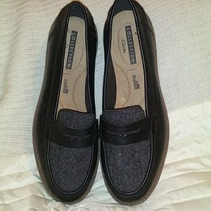 NWOT Clark's collection loafers